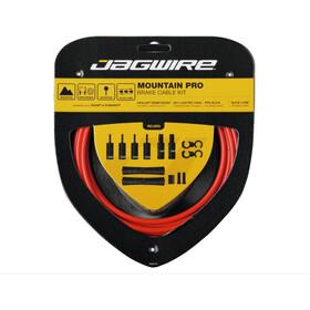 Jagwire Mountain Pro Bremszug Set rot